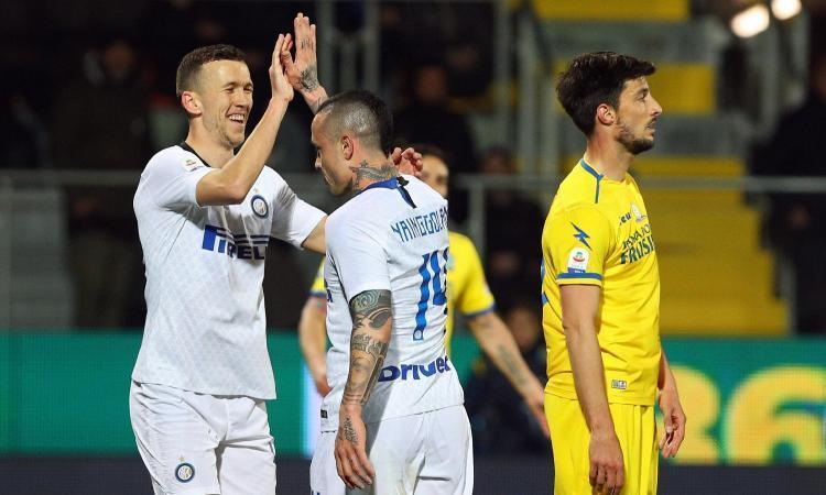 إنتر ميلان يحقق فوزًا ثمينًا خارج دياره على حساب فروسينوني في الدوري الإيطالي