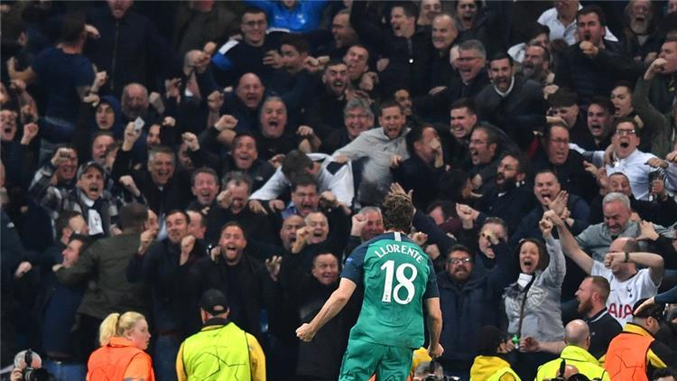 مقطع فيديو حماسي من هاري كين عقب تأهل توتنهام لنصف نهائي دوري أبطال أوروبا