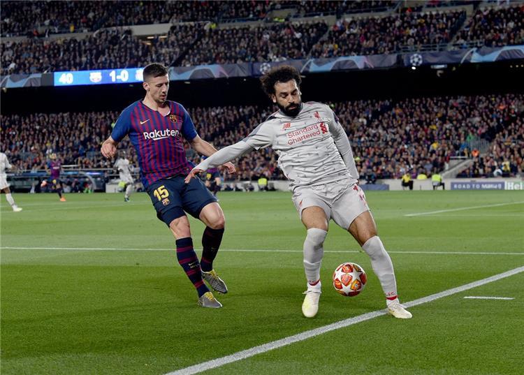 تقييم مميز لمحمد صلاح رغم سقوط ليفربول بثلاثية أمام برشلونة