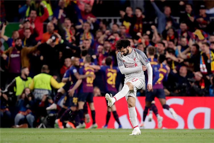 محمد صلاح ضد برشلونة