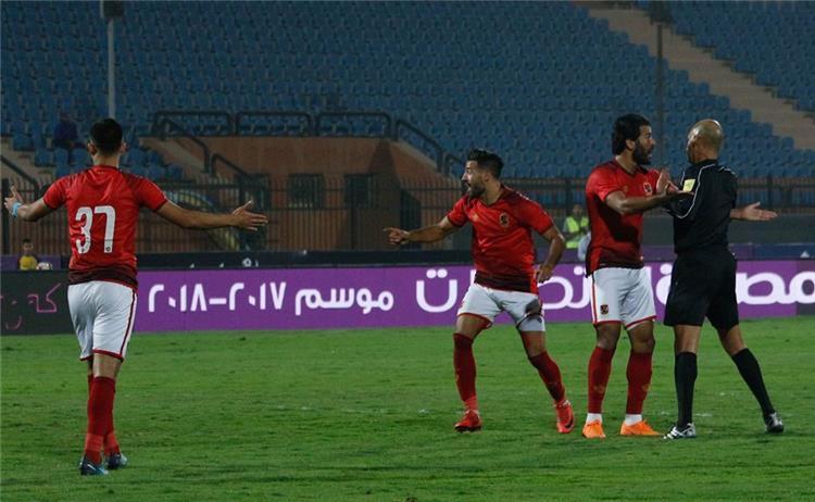 محمد عادل حكم مباراة الاهلي وانبي
