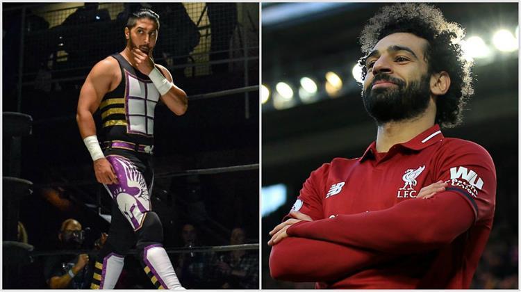 مصطفى علي مصارع WWE محمد صلاح
