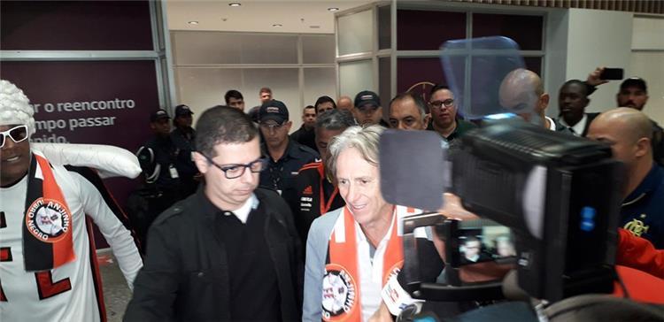 خورخي جيسوس يصل للبرازيل
