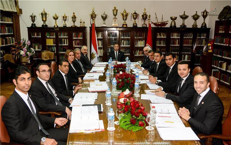 مجلس ادارة الاهلي