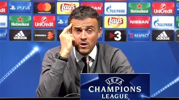 سوشيال_بطولات الشامبيونز برشلونة صدقت يا إنريكي