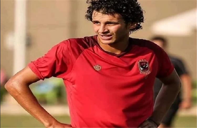 عربي بدر لاعب الاهلي الشاب