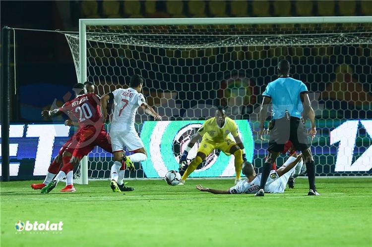 جانب من مباراة تونس في امم افريقيا 2019