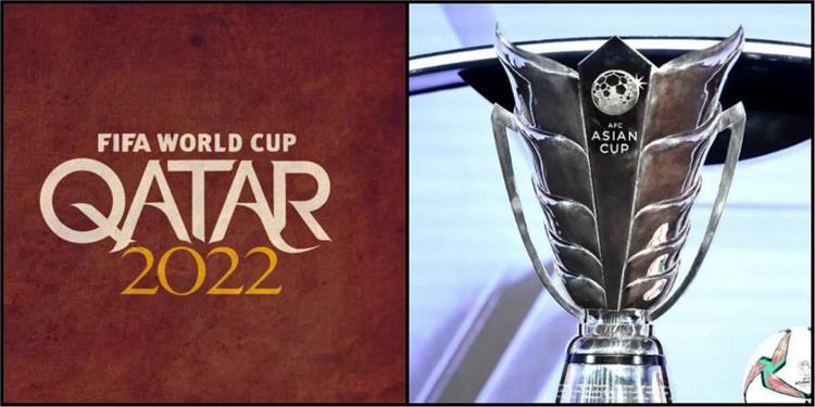 كأس اسيا ومونديال قطر 2022