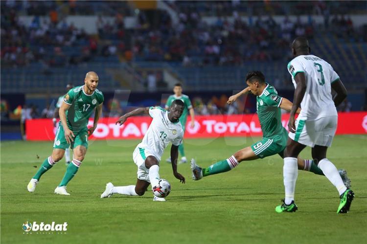 مباراة الجزائر والسنغال في امم افريقيا