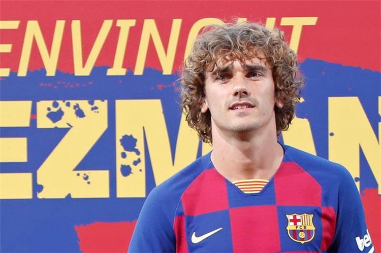 جريزمان بقميص برشلونة