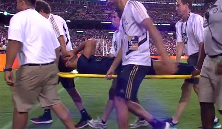 فيديو إصابة مروعة لأسينسيو بمباراة ريال مدريد وآرسنال