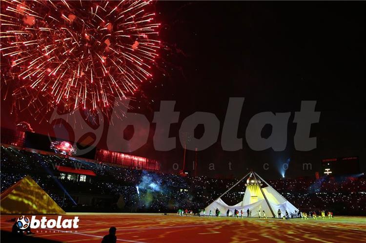 استاد القاهرة في افتتاح كأس أمم إفريقيا