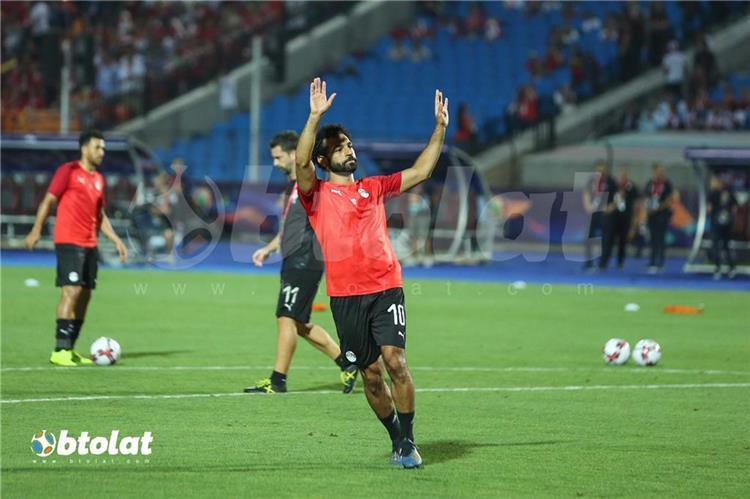 محمد صلاح الضغط الجماهيري على اللاعبين سبب الخروج المبكر من أمم إفريقيا