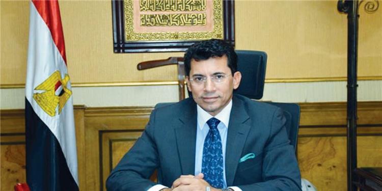 اشرف صبحي وزير الرياضة