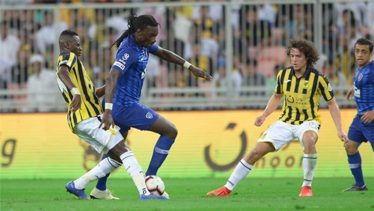مباراة الهلال السعودي واتحاد جدة