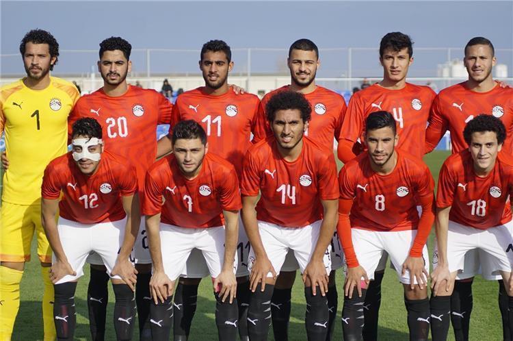 قائمة منتخب مصر الأولمبي لمباراتي جنوب إفريقيا استعداد ا لكأس