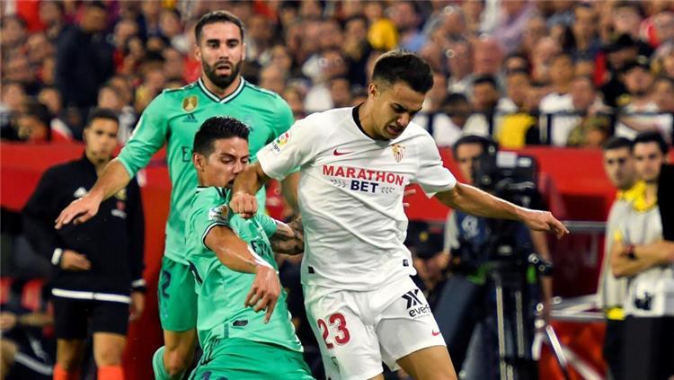 سيرجيو ريجيلون لاعب ريال مدريد المعارر لاشبيلية