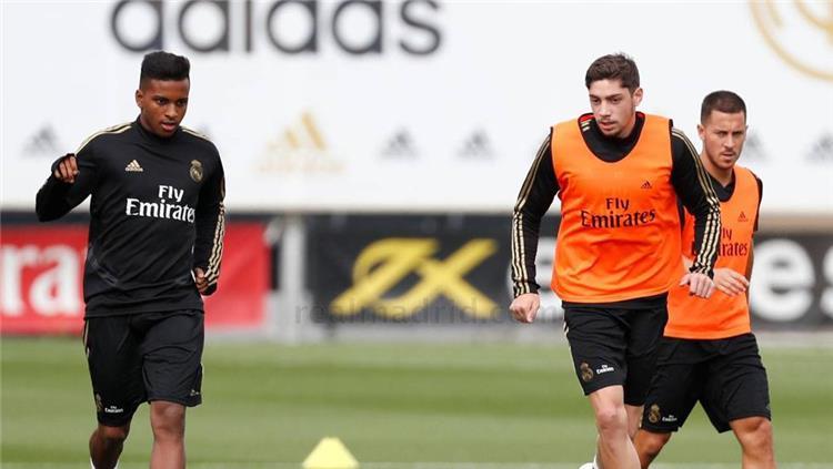 فالفيردي في تدريبات ريال مدريد