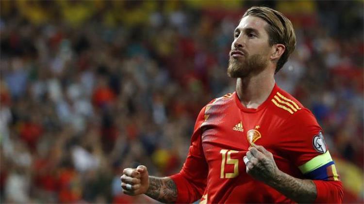 سيرجيو راموس لاعب ريال مدريد والمنتخب الاسباني