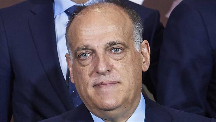 خافيير تيباس رئيس رابطة الدوري الاسباني