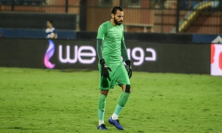 محمود جنش حارس الزمالك