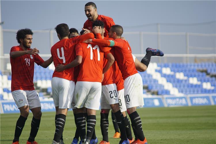 موعد مباراة منتخب مصر الأولمبي وجنوب إفريقيا الودية اليوم