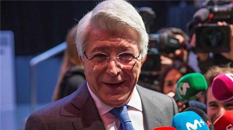 انريكي سيريزيو رئيس اتلتيكو مدريد