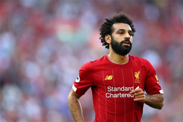 محمد صلاح لاعب ليفربول الانجليزي