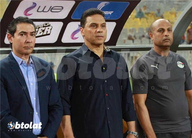 حسام البدري والجهاز الفني لمنتخب مصر