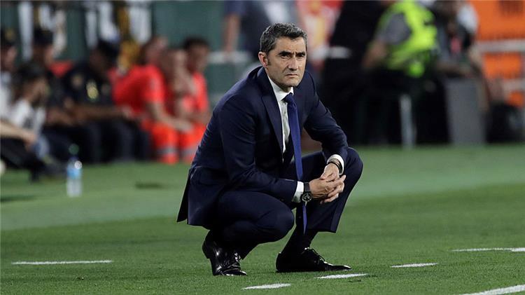 ارنستو فالفيردي مدرب برشلونة