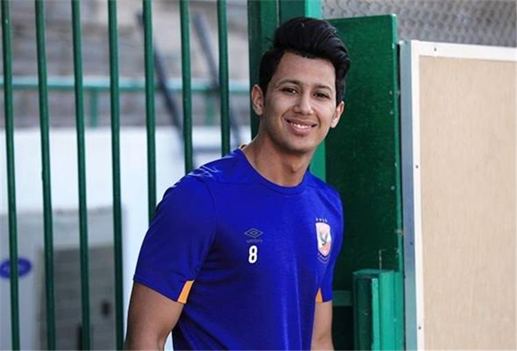 عمرو جمال يواصل التأهيل في طلائع الجيش رغم قرار الراحة -