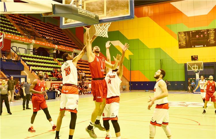 الأهلي والزمالك في السلة