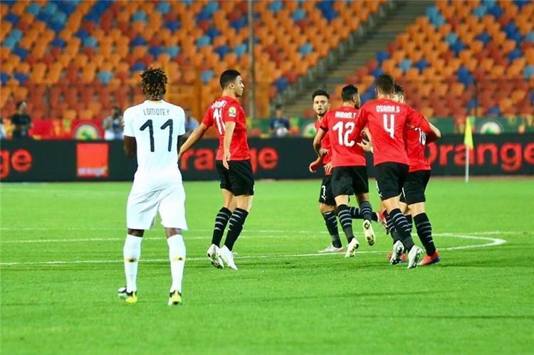 بالفيديو أحمد ياسر ريان يسجل الهدف الثالث لـ منتخب مصر