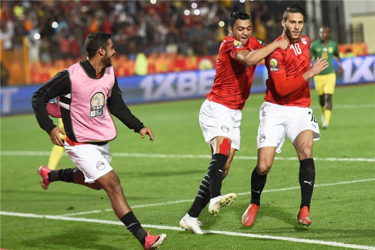 بالفيديو رمضان صبحي يسجل الهدف الأول لمنتخب مصر الأولمبي