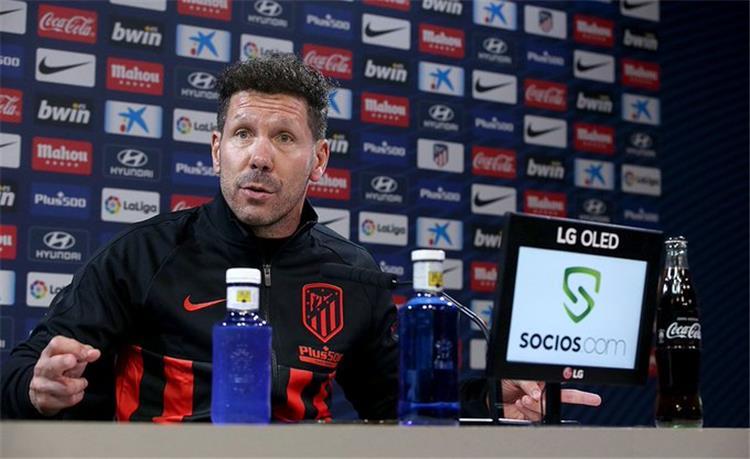 دييجو سيميوني مدرب اتلتيكو مدريد