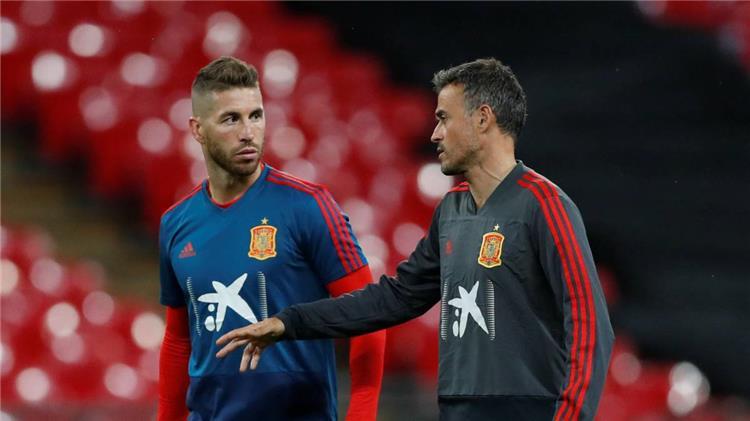 انريكي وراموس مع منتخب اسبانيا