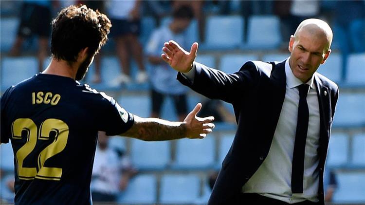 زيدان وايسكو مع ريال مدريد