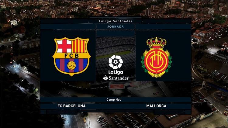 برشلونة ومايوركا