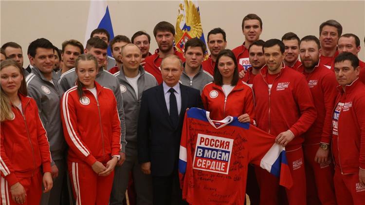 فالديمير بوتين رئيس روسيا