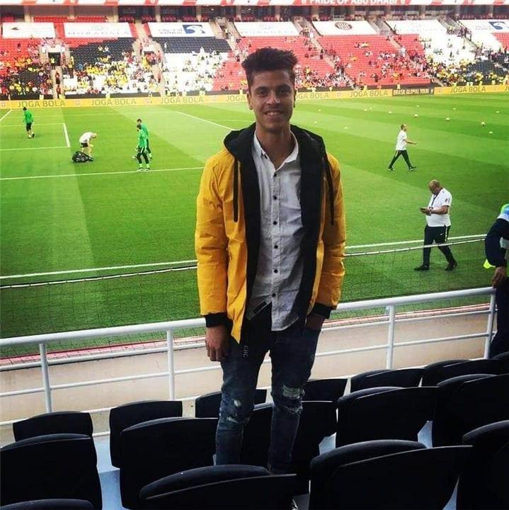 حاتم مولر لاعب منتخب مصر للشباب