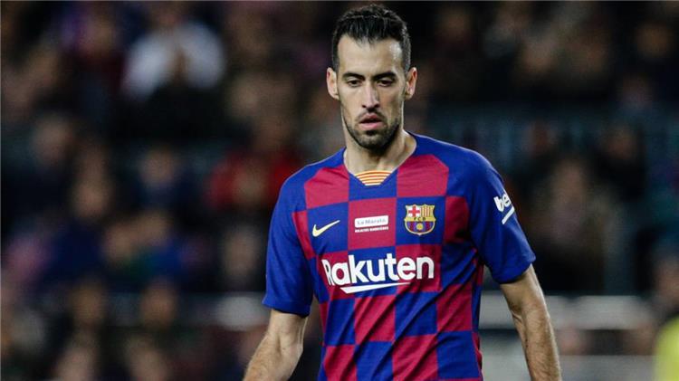 بوسكيتس لاعب برشلونة