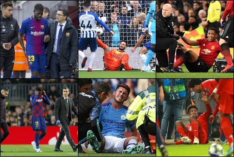 إصابات لاعبي فرنسا