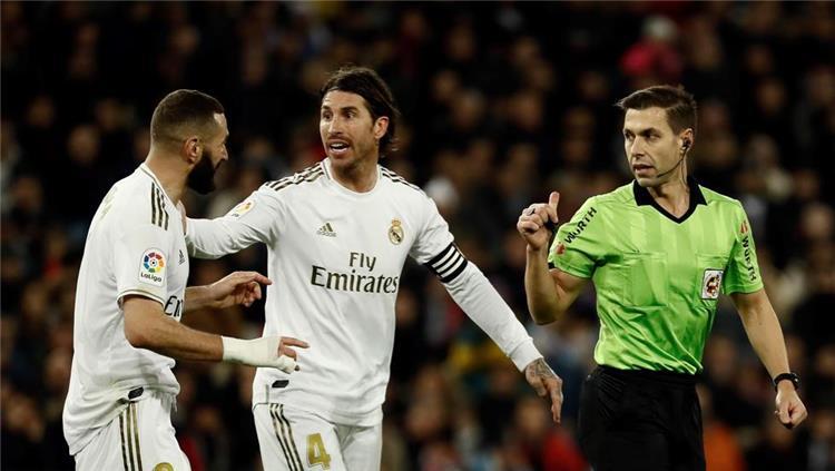 راموس وبنزيما وحكم مباراة ريال مدريد واتلتيكو مدريد