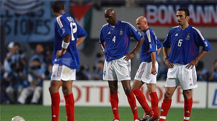 باتريك فييرا بعد خسارة فرنسا من السنغال