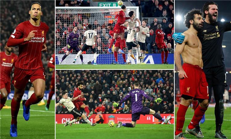 ليفربول 2 0 مانشستر يونايتد