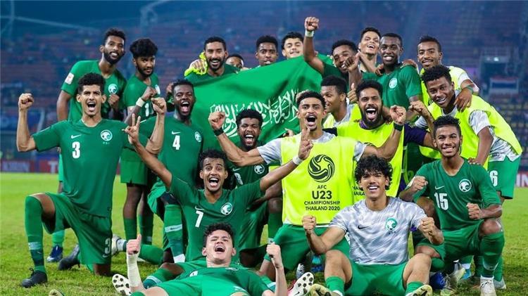 منتخب السعودية الاولمبى