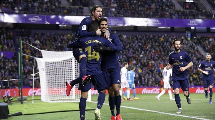 راموس ولاعبو ريال مدريد