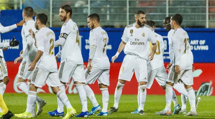 نجوم فريق ريال مدريد