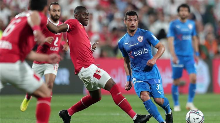 الأهلي والزمالك في مباراة السوبر المصري