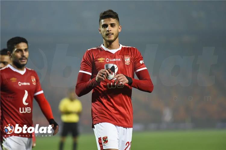 أحمد الشيخ لاعب الأهلي